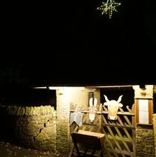 Lychgate and star